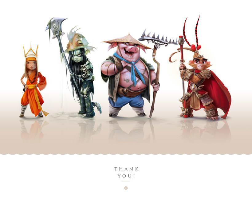 Monkey King Character design 0