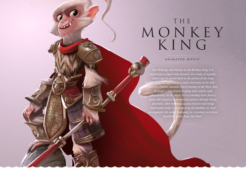 Monkey King Character design 3