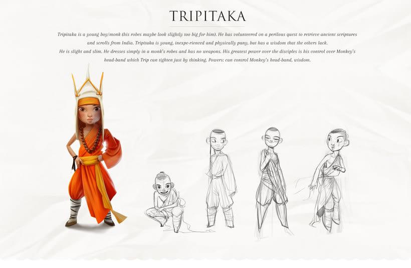 Monkey King Character design 4
