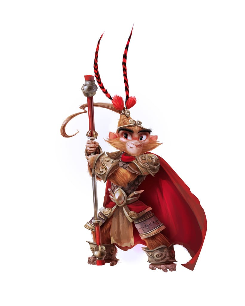Monkey King Character design 6