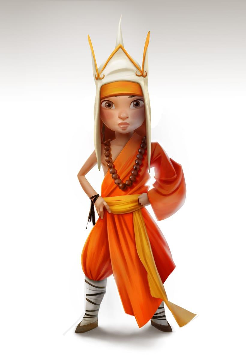 Monkey King Character design 8