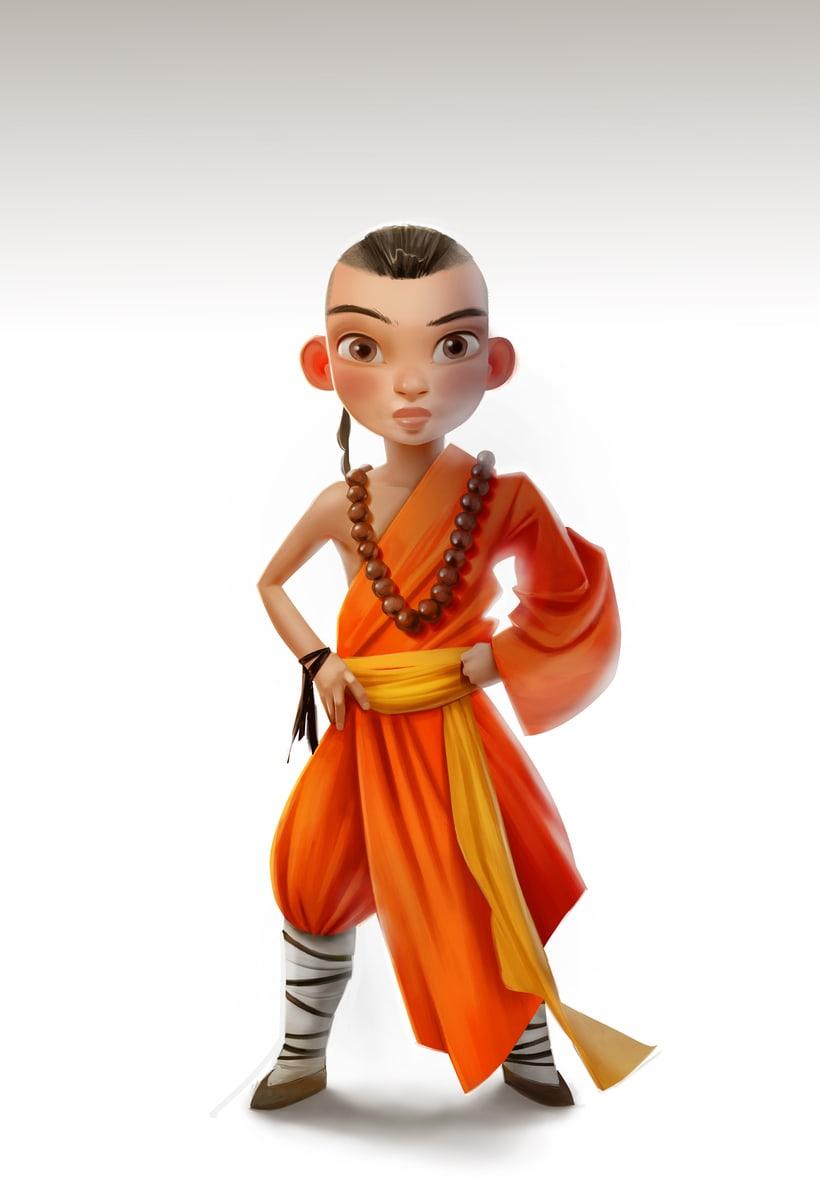 Monkey King Character design 9
