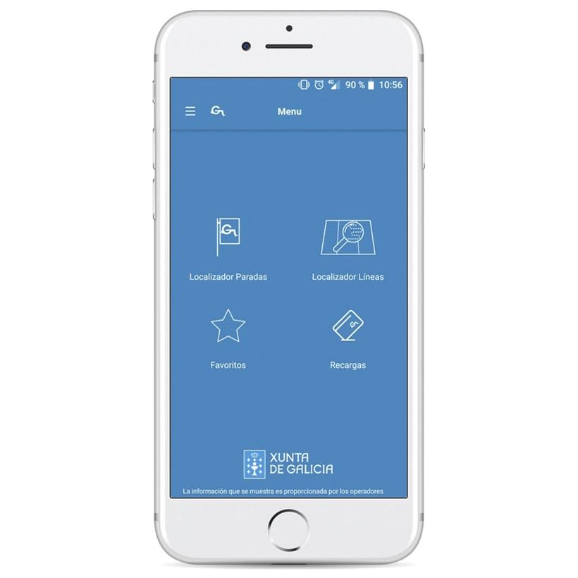 Xunta de Galicia - App de movilidad 2