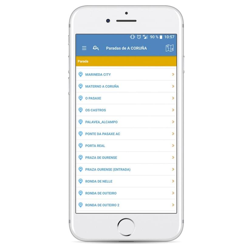 Xunta de Galicia - App de movilidad 4