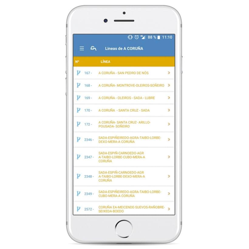 Xunta de Galicia - App de movilidad 5