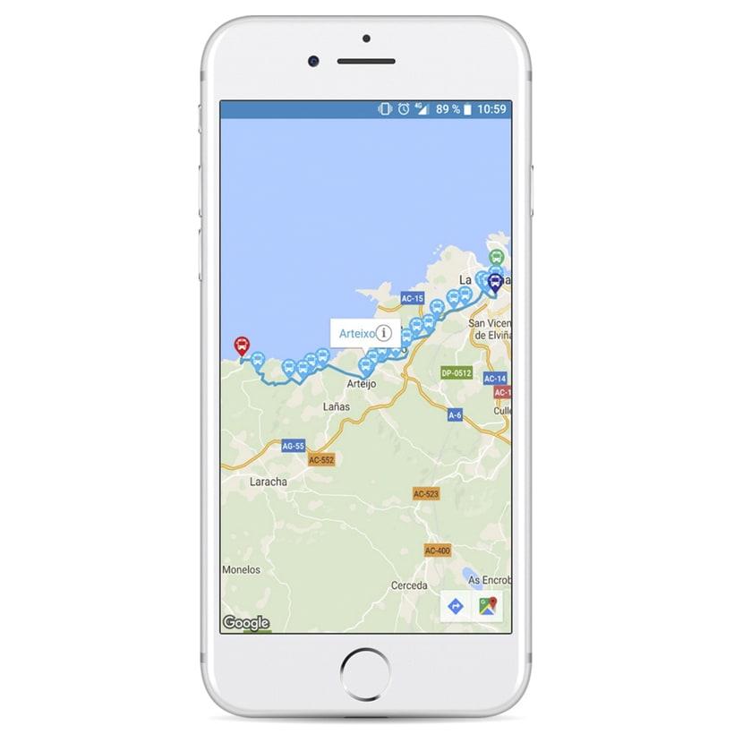 Xunta de Galicia - App de movilidad 6