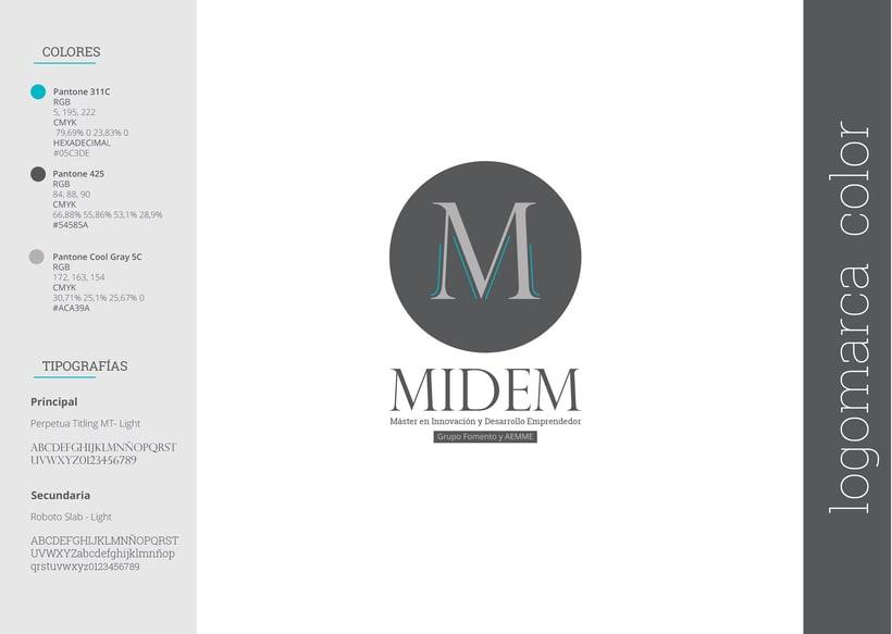 Imagen Corporativa - MIDEM 1