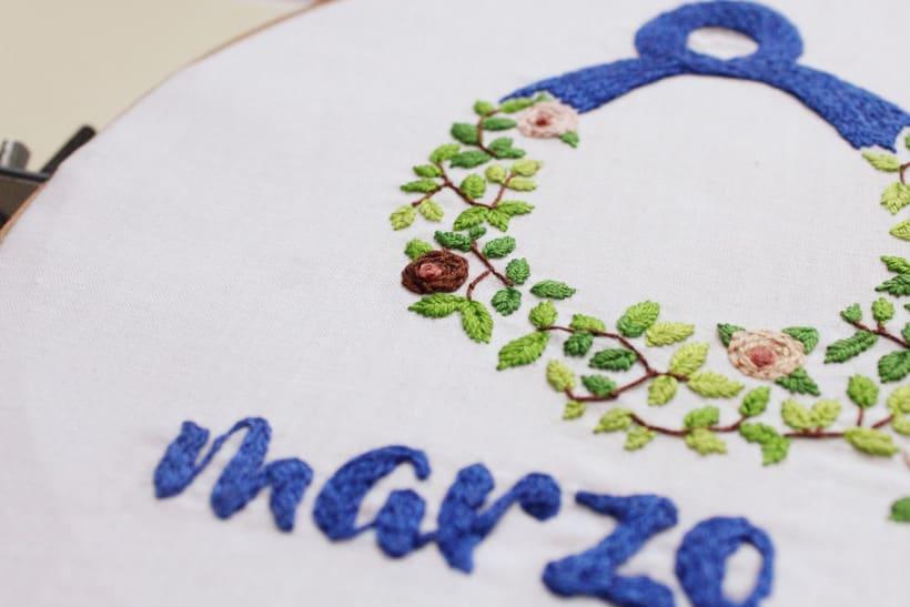 bordado - ilustración por el 8 de marzo, día de la mujer  2