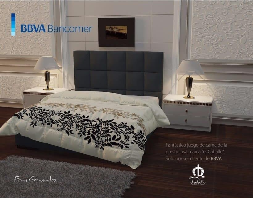 Diseño de producto: Edredon Bbva.