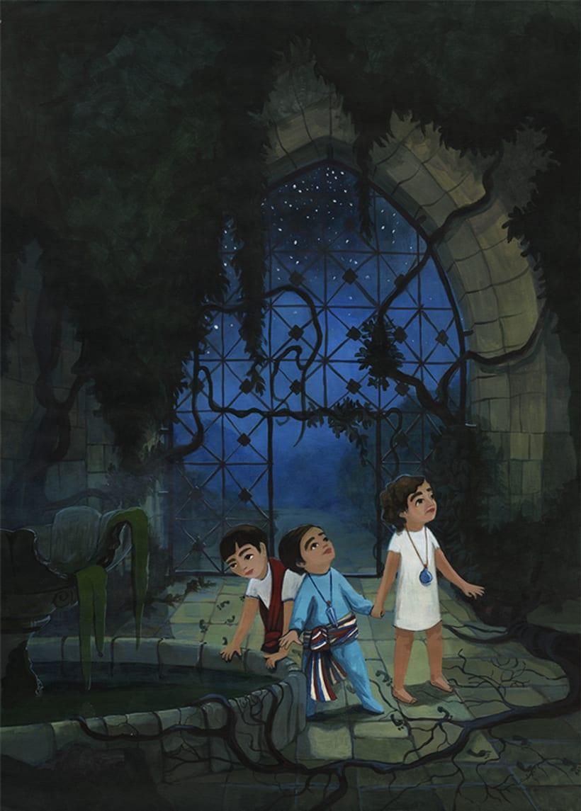 Illustration for children book  - Magical Journey 9