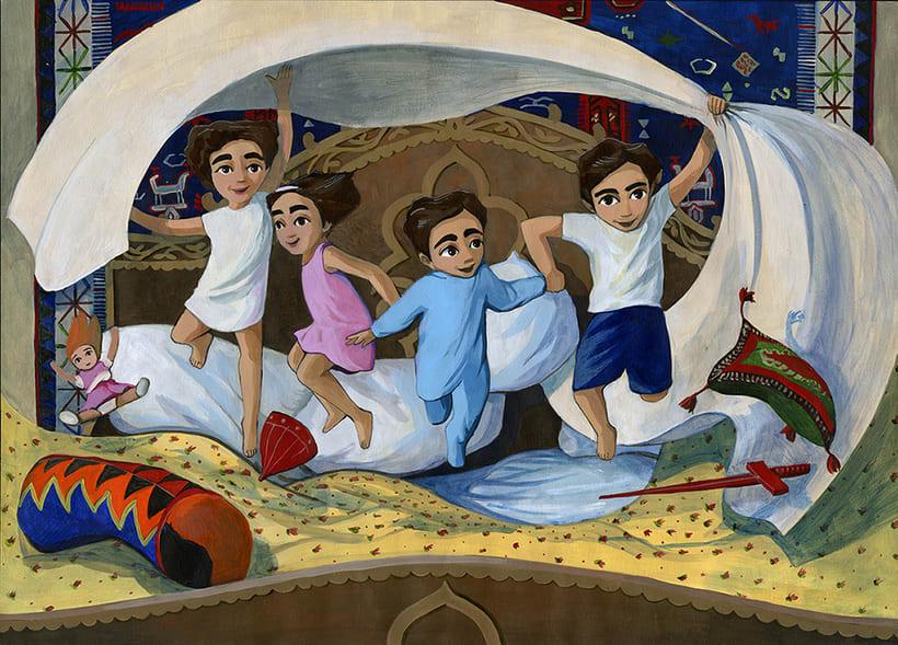 Illustration for children book  - Magical Journey 16