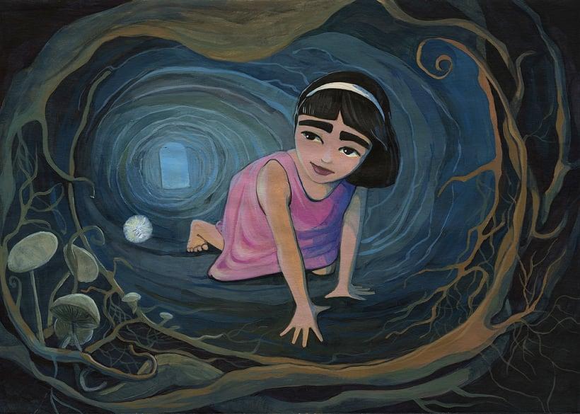 Illustration for children book  - Magical Journey 2