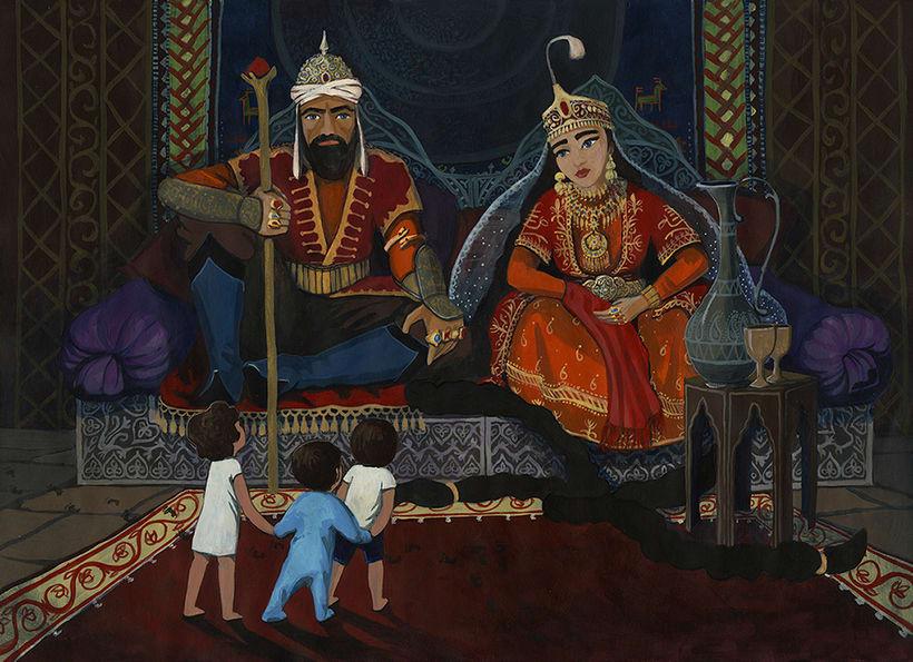 Illustration for children book  - Magical Journey 6