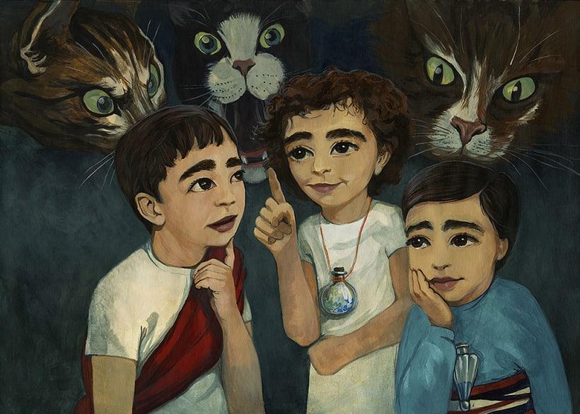 Illustration for children book  - Magical Journey 7