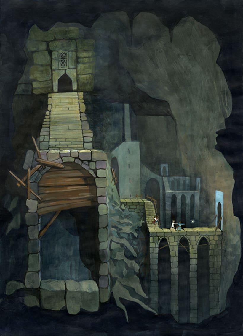 Illustration for children book  - Magical Journey 8