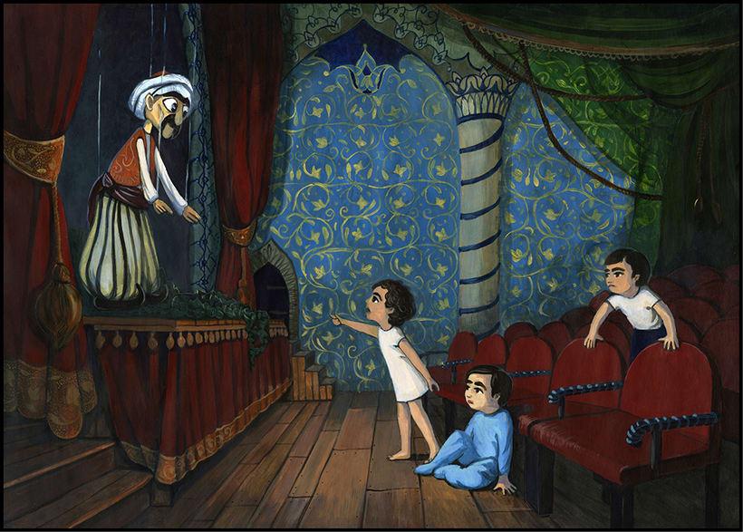 Illustration for children book  - Magical Journey 4