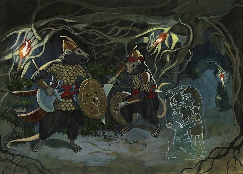 Illustration for children book  - Magical Journey 11