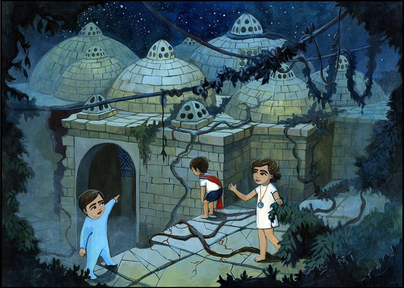 Illustration for children book  - Magical Journey 12