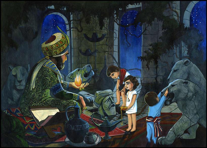 Illustration for children book  - Magical Journey 14