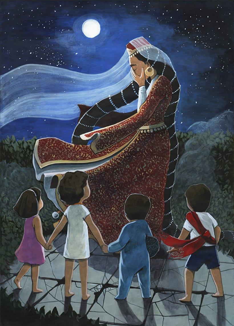 Illustration for children book  - Magical Journey 15