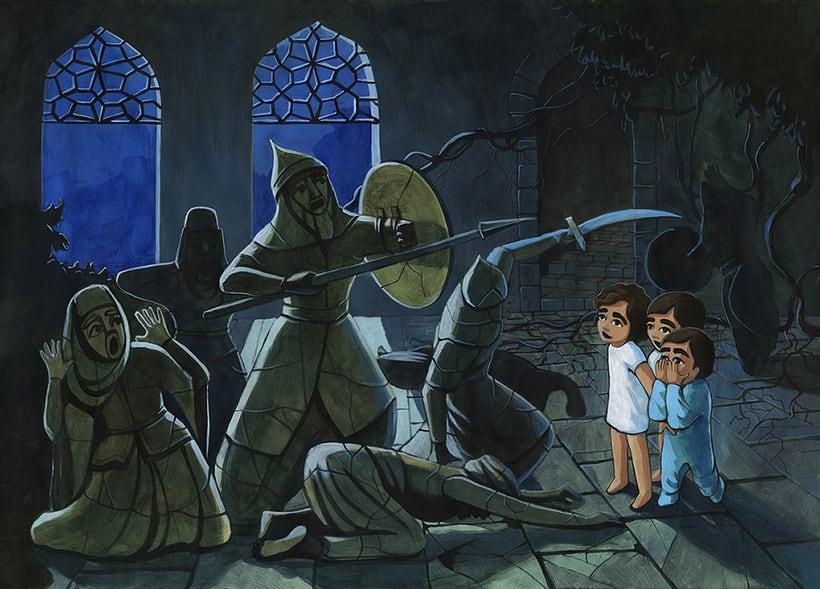 Illustration for children book  - Magical Journey 13