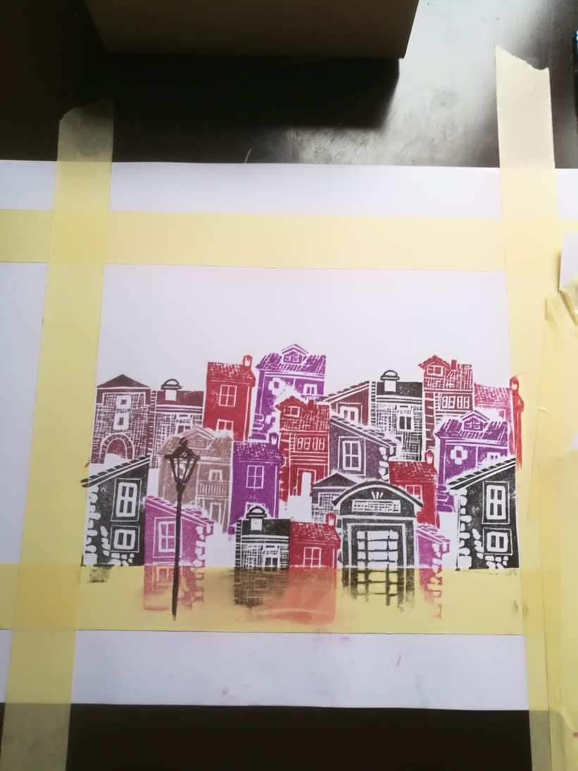 Mi Proyecto del curso: Carvado de sellos y técnicas de estampación 0