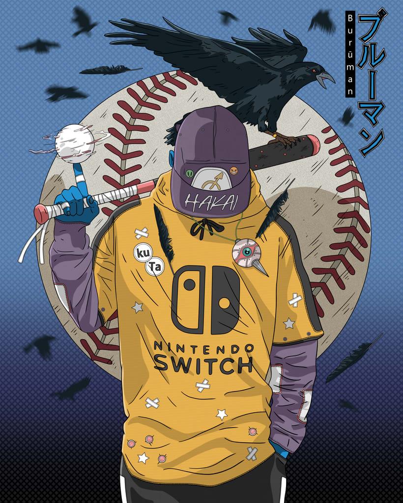 Baseball player (Burūman series) -1