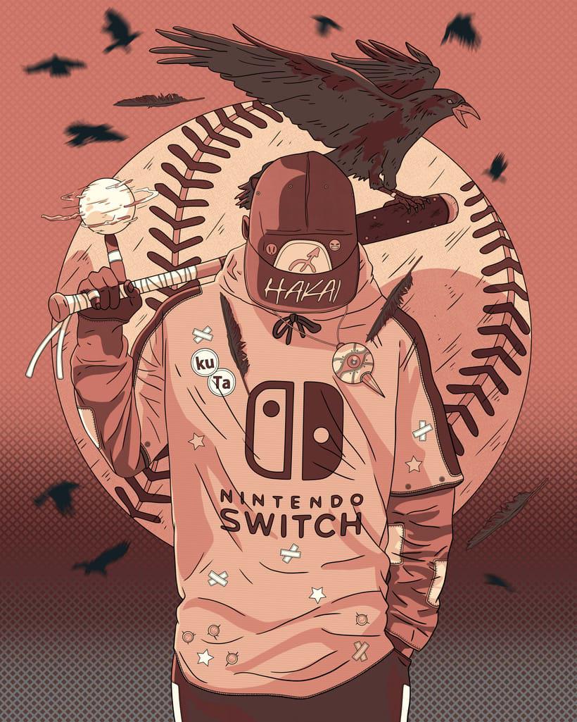 Baseball player (Burūman series) 0