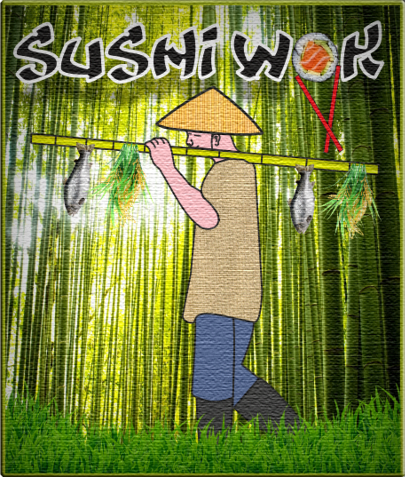 Flyer Sushi Wok 0