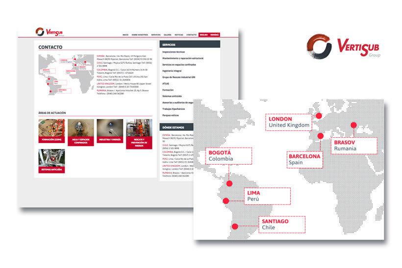 Diseño web, iconografía e infografías. Escuela Vertisub 9