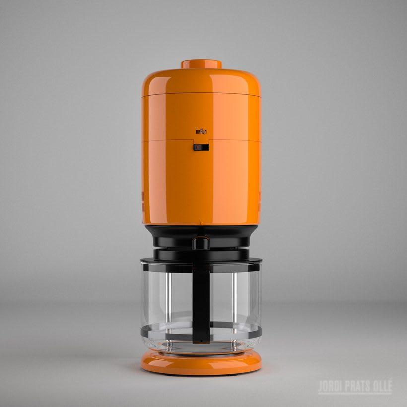 Simulación de producto - Braun Aromaster KF20 1