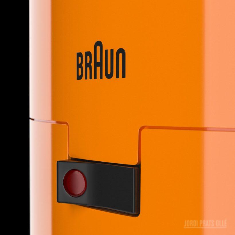 Simulación de producto - Braun Aromaster KF20 3