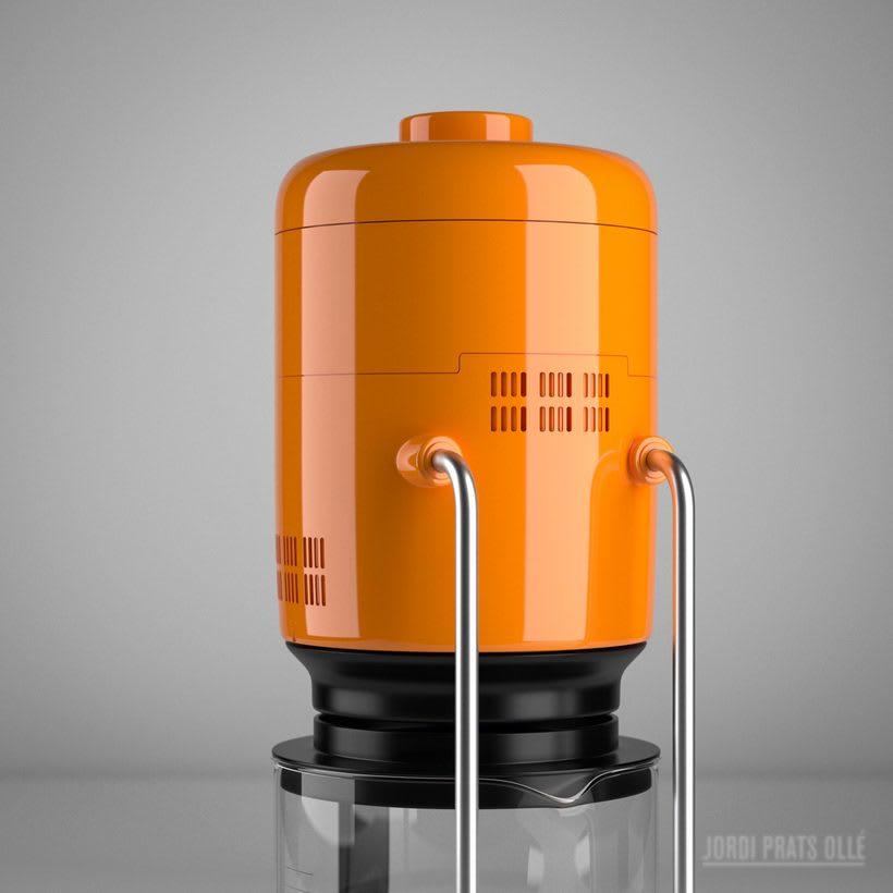 Simulación de producto - Braun Aromaster KF20 5
