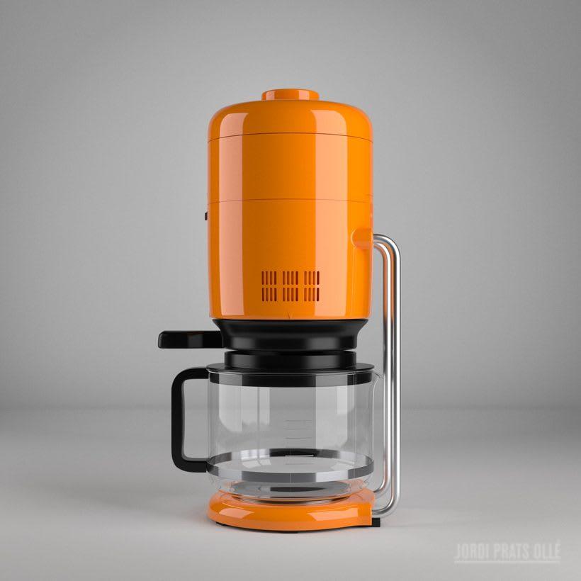 Simulación de producto - Braun Aromaster KF20 2