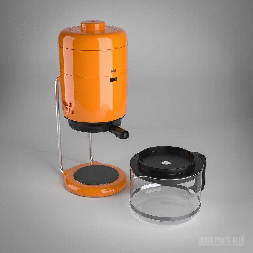Simulación de producto - Braun Aromaster KF20 6
