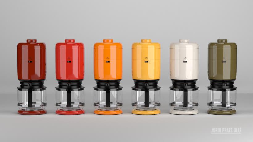 Simulación de producto - Braun Aromaster KF20 7