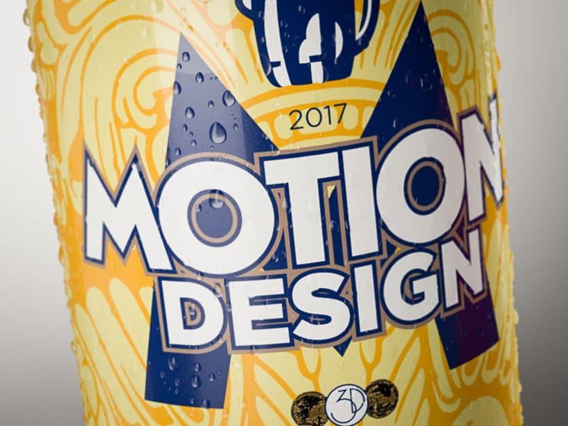 Latas cerveza - simulación de producto 4