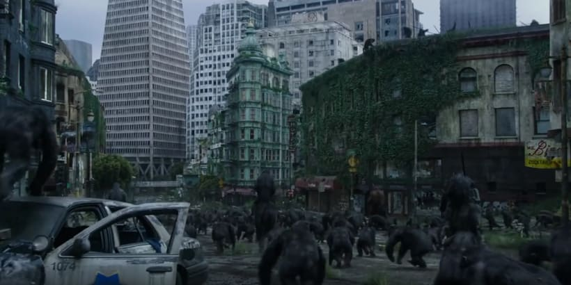 Dawn of the Planet of the Apes - Layout & Set Dressing 3