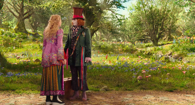 Alice Through The Looking Glass - Layout 2