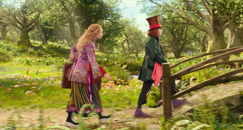 Alice Through The Looking Glass - Layout 3