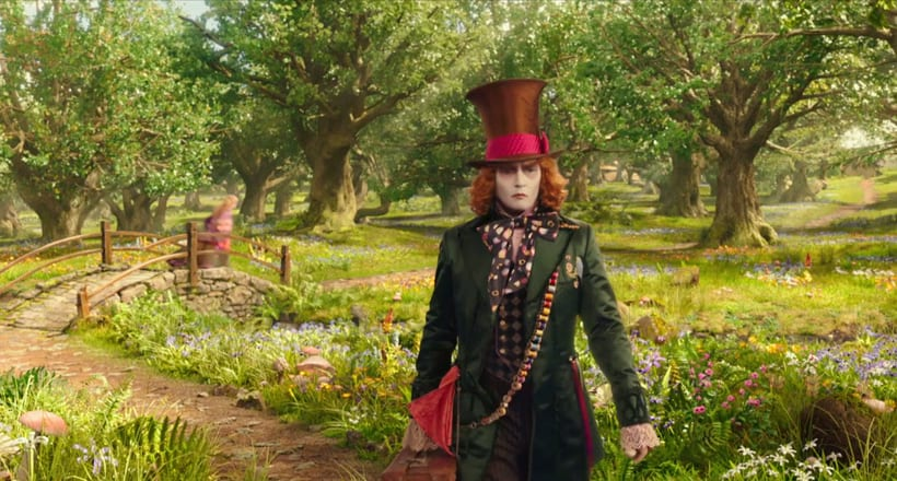 Alice Through The Looking Glass - Layout 4