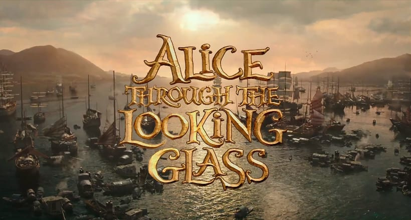 Alice Through The Looking Glass - Layout 8