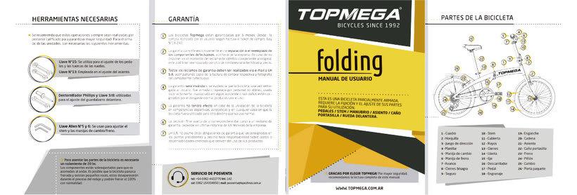 Manual de Usuario Topmega Folding 1
