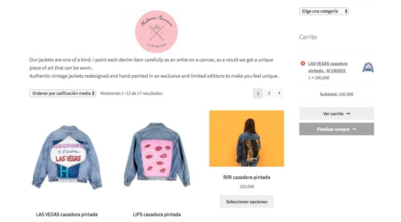 Mi Proyecto del curso: Creación de una tienda online en WordPress: ALABAMA BANANA 2