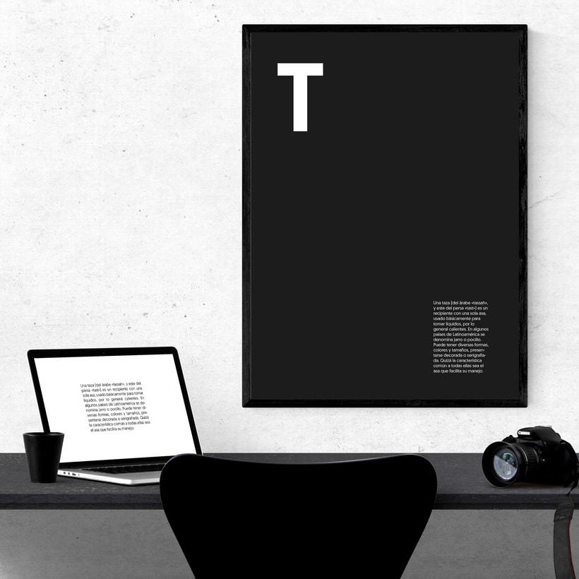 """Cartelería. Concepto e historia de la palabra """"taza"""" 7"""