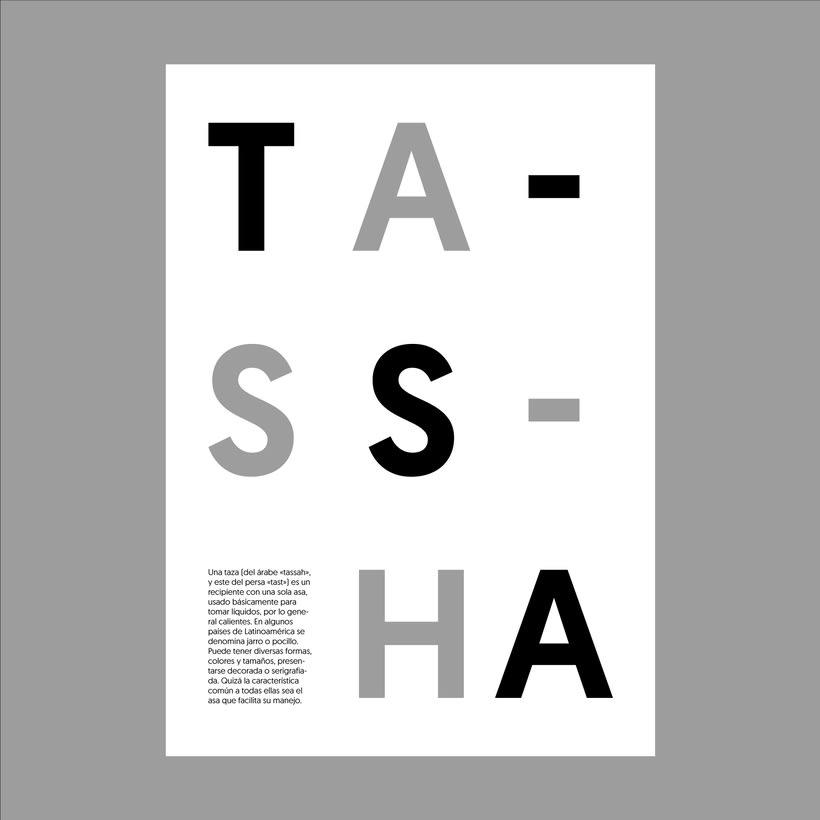"""Cartelería. Concepto e historia de la palabra """"taza"""" 2"""