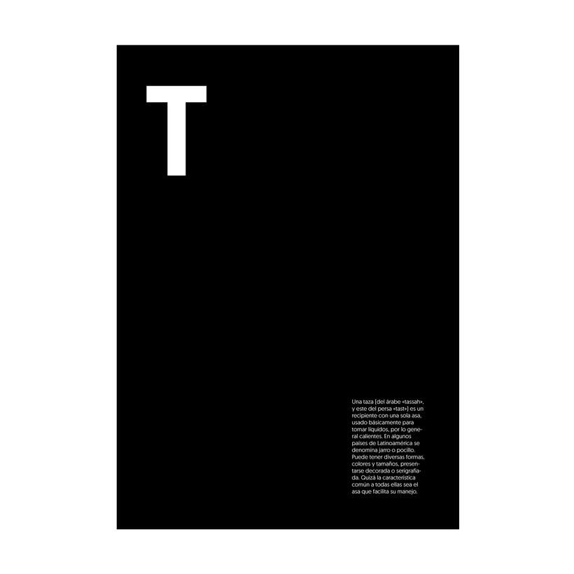 """Cartelería. Concepto e historia de la palabra """"taza"""" 6"""