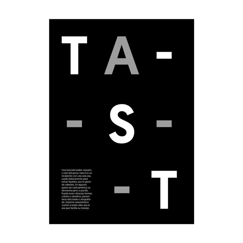 """Cartelería. Concepto e historia de la palabra """"taza"""" 1"""
