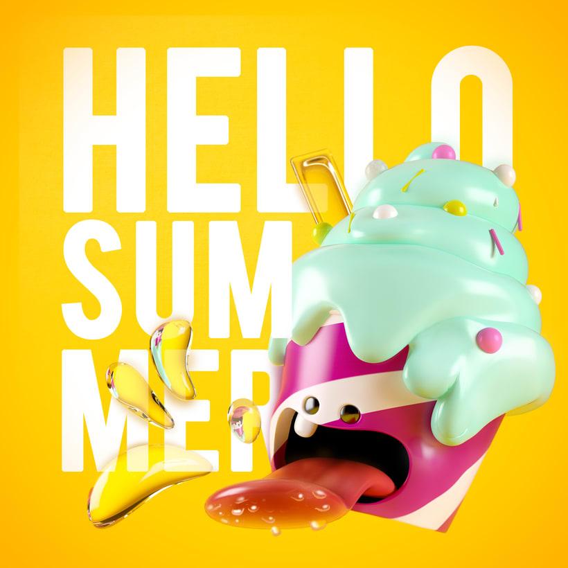 Hello summer! -1