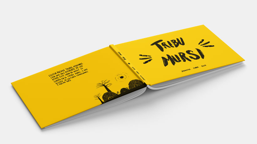 Tribu Mursi. Libro de viaje. 1
